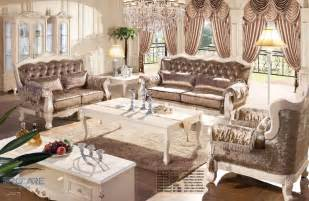 Living Room Furniture Prices European Style Brown Armchair Sofa Set Living Room Furniture Modern Fabric Set Furniture