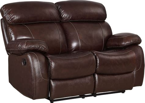brown reclining loveseat dante dark brown reclining loveseat l2041 20 bbn new