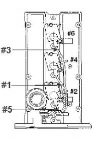kia amanti i the firing order but is the wire order