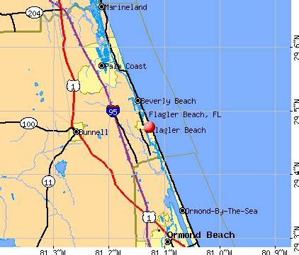 map of flagler florida flagler county florida zip code map