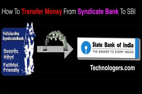 transfer money from different banks way how to transfer money from syndicate bank to