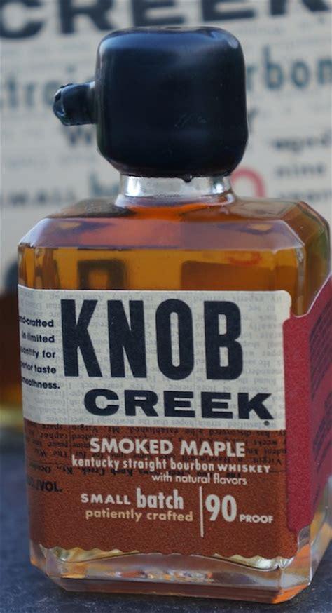 review knob creek smoked maple bourbonblog