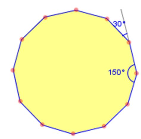 Dodecagon Interior Angles by Polygon 12 Sides Test Your Math Skills