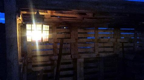 Shed Nightclub by Pallet Firewood Shed