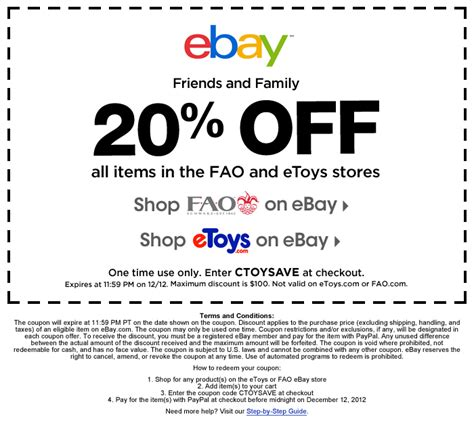 discount vouchers ebay ebay discount coupon code free shipping 2017 2018 best