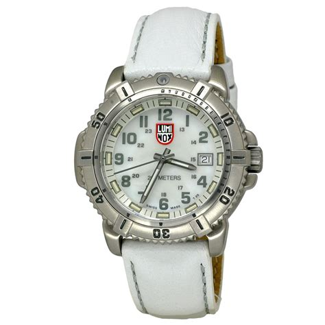 s white luminox navy seal colormark diver s