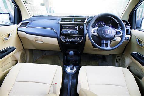 Amaze Car Interior by New Honda Amaze Cvt Drive Review Car India The