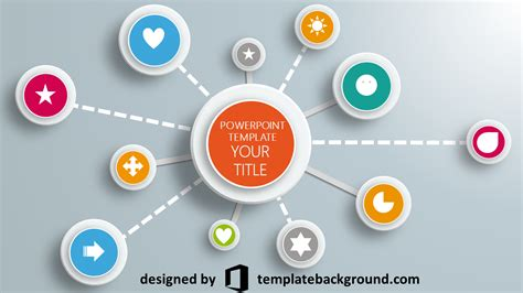 themed powerpoint templates powerpoint template free infographic diagram