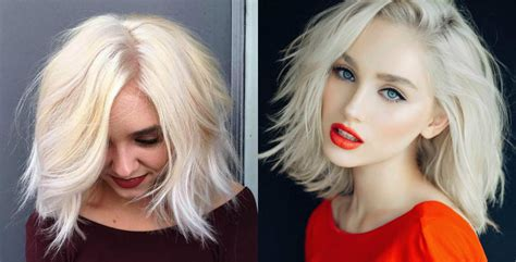 Knocking Out Platinum Blonde Bob Hairstyles   Hairdrome.com