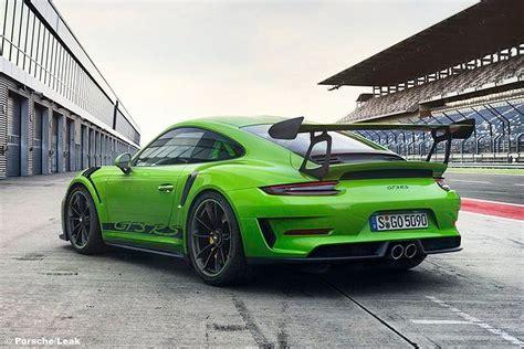 Autobild 911 Facelift by Porsche 911 Gt3 Rs Facelift 2018 Bilder Bilder