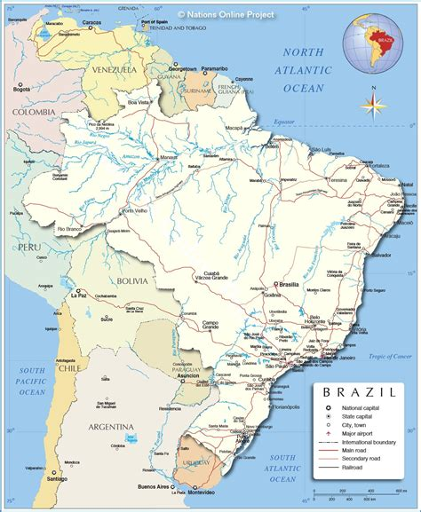 neighboring countries of brazil 28 neighboring countries of brazil www mappi net