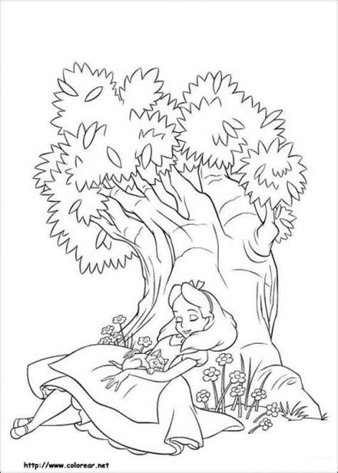 imagenes de obras literarias para colorear dibujos de alicia en el pa 237 s de las maravillas para