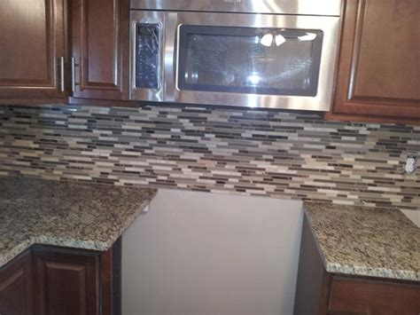 tumbled marble backsplash new jersey custom tile stone glass backsplash photos