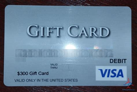 Debit Visa Gift Card - 300 visa debit gift card that you can set a pin vdgc ren 233 s pointsren 233 s points