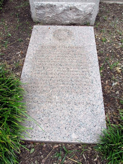 texas state cemetery map william p hardeman indian fighter frontiersman explorer