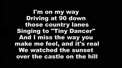 ed sheeran over the castle lyrics ed sheeran castle on the hill official lyric video 17