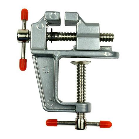 miniature vise small jewelers hobby clamp  table