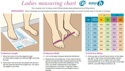 Shoe Size Chart Narrow | narrow shoe size chart pictures to pin on pinterest