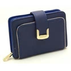 portefeuille porte monnaie porte carte femme bleu achat