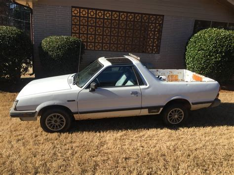 1985 subaru brat for sale 1985 subaru brat t top 4 speed for sale in atlanta