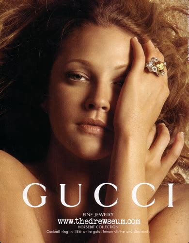 Drew Barrymore The Of Gucci Jewelry by Gucci The Drewseum