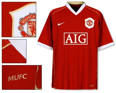 2006 2007 Manchester United Home Original Jersey Size L Ronaldo 7 manchester united home shirt 2006 07 honey