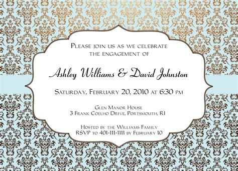 Engagement Invitation Design Invitation Templates