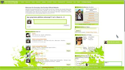 membuat halaman depan web dengan php contoh aplikasi web jejaring sosial sederhana dengan php