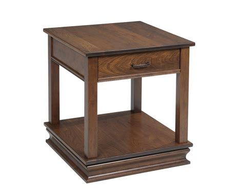 elegant accent tables elegant end table with drawer and lower shelf homesquare