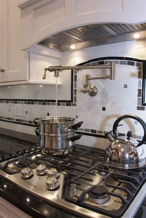 pot filler backsplash ideas pot filler