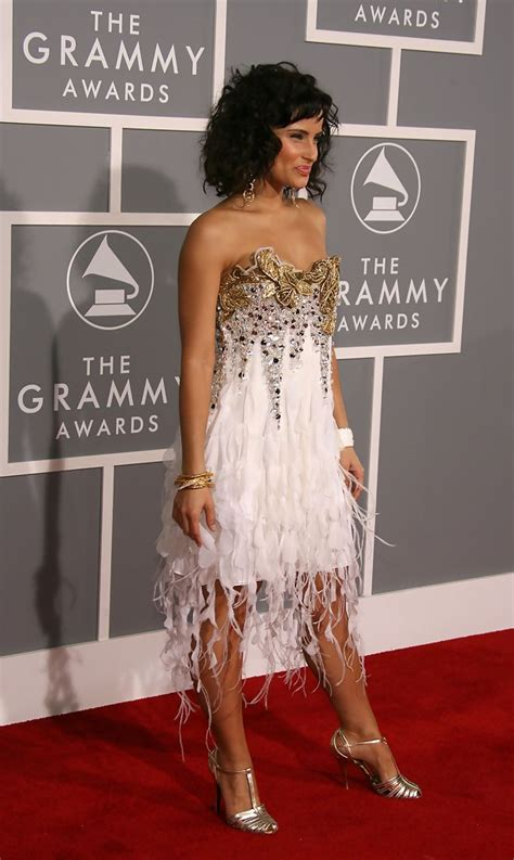 The 49th Annual Grammy Awards by Nelly Furtado In 49th Annual Grammy Awards Arrivals Zimbio