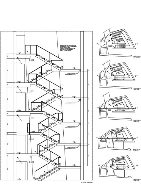 section drawing of staircase architecture photography 1148453740 mca ex ducati stairs