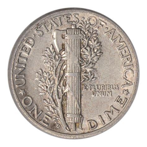 1916 d us mercury silver dime 10c pcgs au50 ebay
