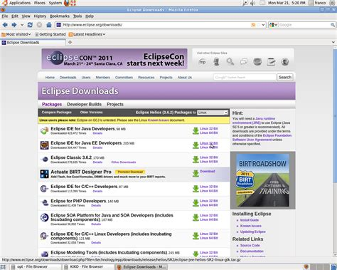 ubuntu manual eclipse install installing eclipse ide in ubuntu lucid the geek side of me