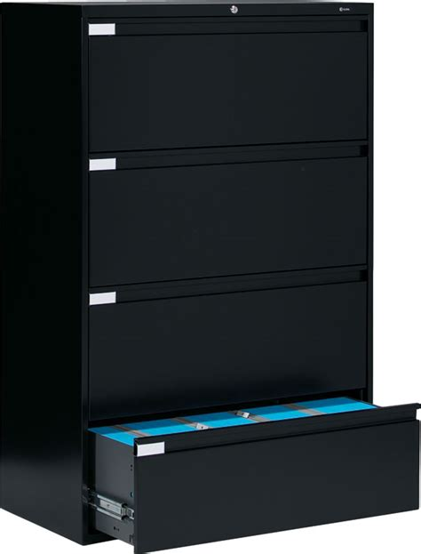 Global Lateral File Cabinet Global 9336p 4 Drawer Lateral Filing Cabinet