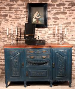 shabby chic mahogany art nouveau sideboard blue antiques atlas