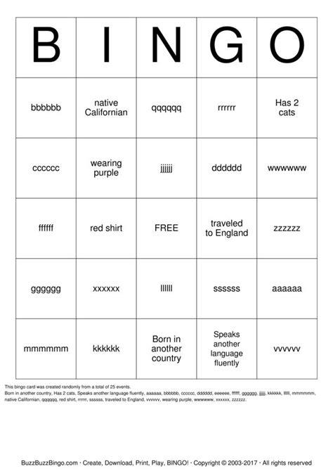 make a bingo card free bingo cards to print and customize