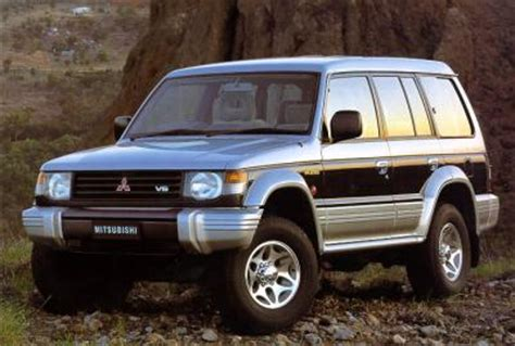 old car owners manuals 1996 mitsubishi montero regenerative braking list of options and versions by mitsubishi pajero mitsubishi pajero mitsubishi pajero 3 2