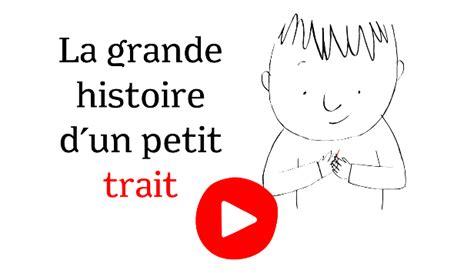 libro petit trait de la la grande histoire d un petit trait conte 224 dessiner application enfant