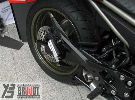 Tieferlegung Yamaha Xj6 by Bruudt Cnc Machined Special Parts Passenger Foot Peg