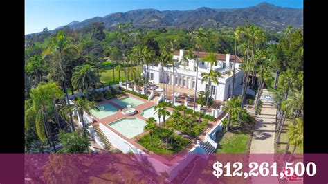 scarface house scarface mansion in montecito sells for about a third of