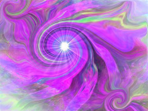 eye chakra violet swirl energy art intuition