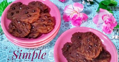 Coklat Kurma Batang kue kering coklat sederhana 1 265 resep cookpad