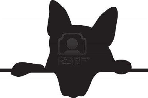 dog head silhouette clip art silhouette dog clipart best