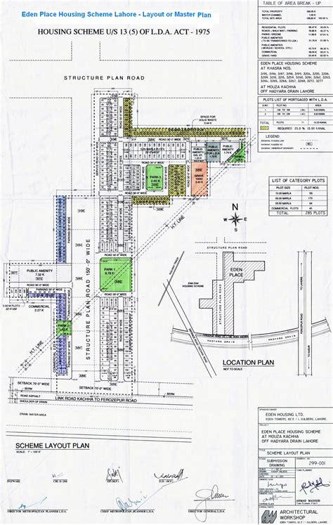 sam layout min js eden place housing scheme lahore master and location