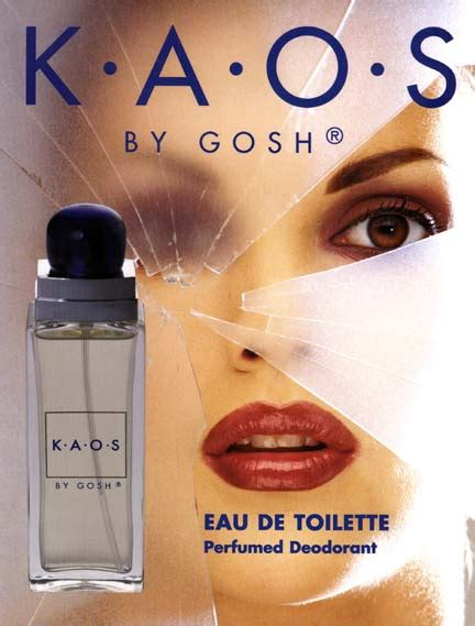 Kaos K O kaos gosh perfume a fragrance for
