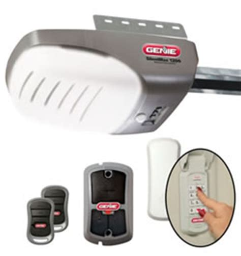 Genie Silentmax 1000 Garage Door Opener Manual by Genie Silentmax 1200 3 4 Hp Dc Power Plus Motor Belt Drive
