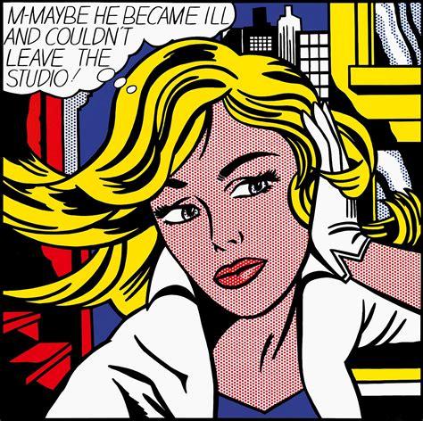 M Maybe 1965 Roy Lichtenstein