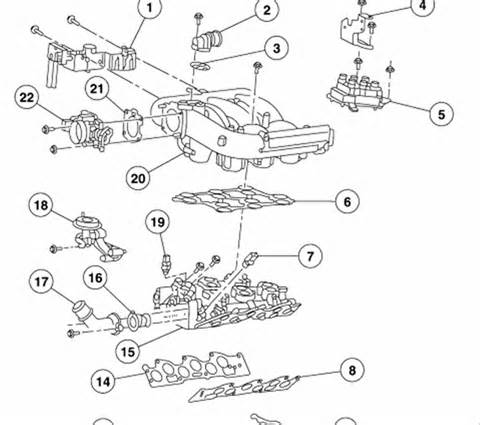 2000 ford f150 4 2 liter v6 engine diagram for engine coolant temperature sensor html autos weblog