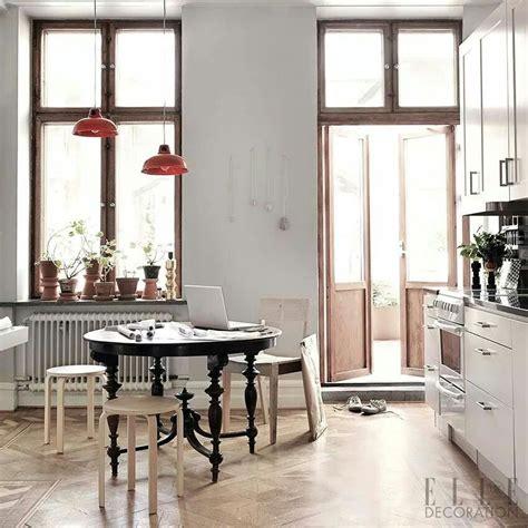 elle decor apartment interior home  scandinavian home
